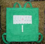 Baby Ragamuffin Backpack - Green